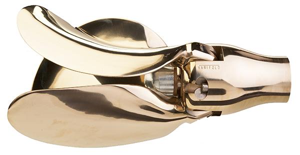 Varifold 3 blade folding propeller