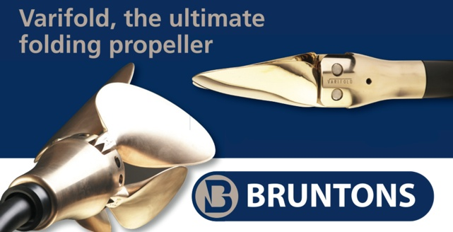 Varifold folding sailboat propeller