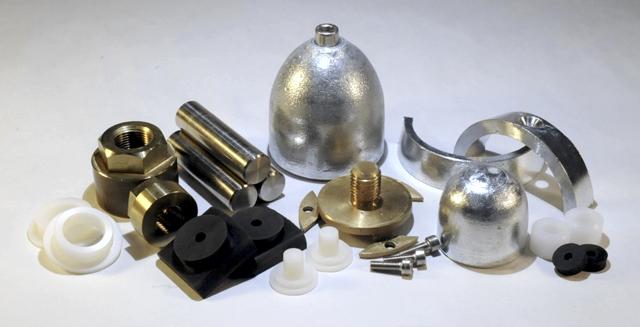 Varifold propeller parts