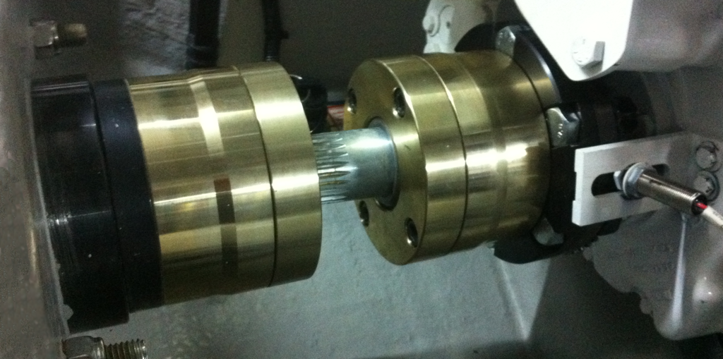 Sigmadrive thrust coupling