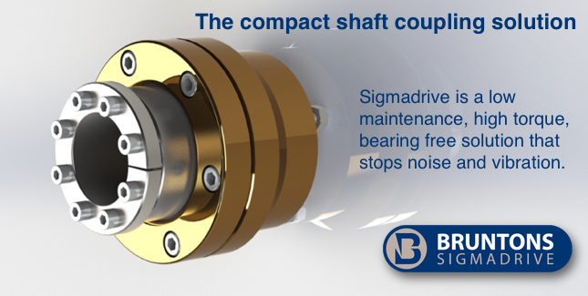 SigmaDrive Standard Installation shaft coupling