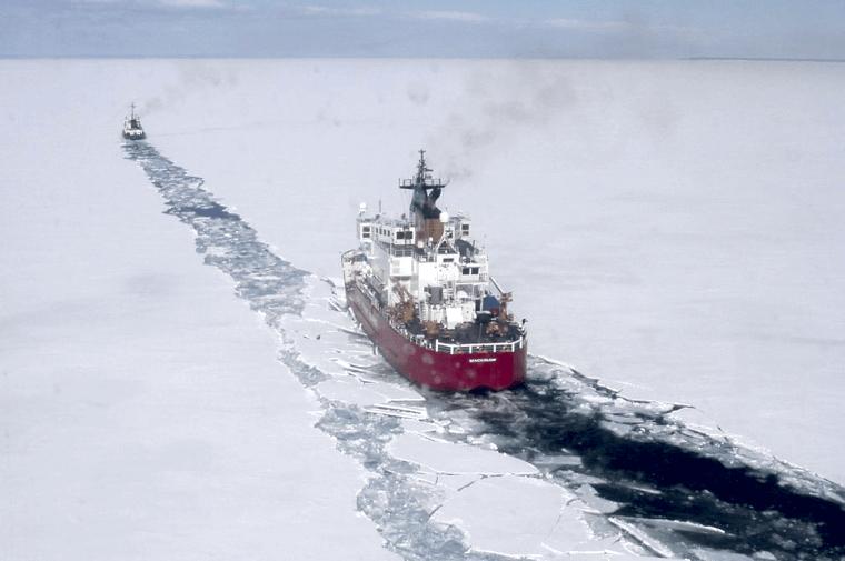 Mackinaw-in-ice