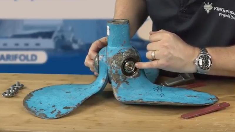 Autoprop H6 blade nut