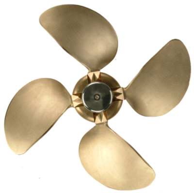 Varifold folding sailboat propeller 4 blade