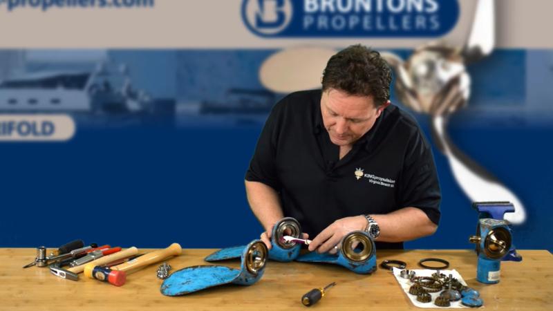 Autoprop h6 rebuild bearing removal 1