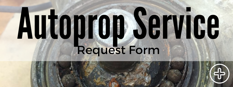 Autoprop Propeller Service Request